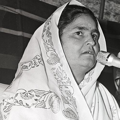 Hyderabad, TS, March 15, 1981: Discourse by Nirankari Rajmata Ji